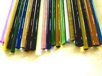 Devardi Glass COE 33 Boro 5 lbs Assorted Borosilicate Rods Lampworking, Blowing