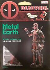 'DEADPOOL' (MARVEL) 3D METAL EARTH~BRAND NEW~MSRP $25~BID@$1~HARD TO FIND!