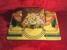 Marx Vintage Grand Central Station Lighted Litho LARGE STATION NICE  NO RESERVE