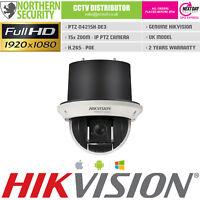 Hikvision PTZ 2MP 15x Optical Zoom POE Onvif Recess Mini IP Camera Pan Tilt Zoom