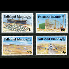 FALKLAND ISLANDS 1985 Mount Pleasant Airport SG 501-504 Mint Never Hinged(WE879)