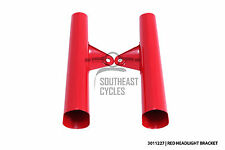 Red headlight bracket front fork cover for Honda SS50 CL50 CL70