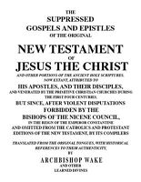 *Lost Books of the Bible-Suppressed Gospels New Testament/Forbidden-9 Volumes-CD
