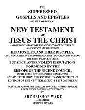 Suppressed Gospels New Testament/Forbidden Lost Books Bible-9 Volumes-CD eBook
