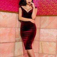 2017 Elegant Velvet Sleeveless Sexy Deep V Neck Bodycon Party Evening Mini Dress