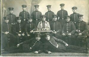 Orig. Foto-AK NEUBREISACH /NEUF-BRISACH /BREISACH Soldaten 1913