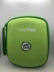 Leapfrog Leap Pad Explorer Green Carrying Case  Gaming Kids Games Pre Owned