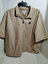 Short Sleeve Golf Jacket North End Mens XL Pull Over Wind Breaker Zip Collar
