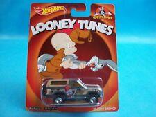 Hot Wheels Looney Tunes '85 FORD BRONCO Elmer Fudd Real Riders