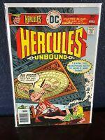 DC Bronze-Age Comic HERCULES UNBOUND #5 Secret of World War 3 III UPC Newsstand