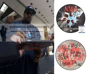 Ice Cube Signed NWA Straight Outta Compton Picture Album Beckett Proof Autograph