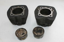 2001 HARLEY ELECTRA GLIDE TWIN CAM FLHT ENGINE MOTOR PISTON CYLINDERS BLOCK JUGS
