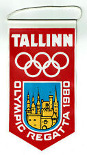 USSR Soviet Russian Moscow Olympic Games 1980 MISHA Lot 4 pcs. Pennant