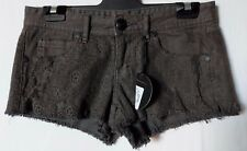 """WOMEN'S SHORTS ELEMENT MINI LACE STRETCH SIZE 8/26"""" NEW WITH TAGS FREE POSTAGE"""