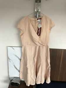 max mara 16 Pink  New Dress, Fit And Flare, Stunning,
