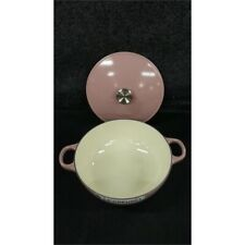 Le Creuset L2574 Chef's Oven, Pink, Cast Iron, with Lid, No Box