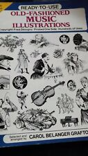 Old fashion Music Illustrated  1990