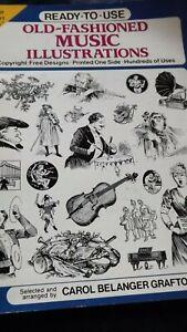 Old fashion Music Illustrated  1990