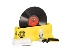 Vinyl Record Cleaner Spin Cleaning Machine Washer Starter Kit Roller Drying Set