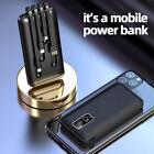 900000mAh Power Bank Ultra Thin 4 USB Portable External Battery Backup Charger