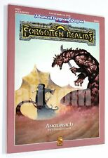 Dungeons & Dragons FORGOTTEN REALMS ANAUROCH (FR13) 1991 TSR #9320 AD&D D&D