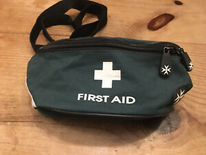 VINTAGE ST JOHN AMBULANCE FIRST AID KIT BAG  POUCH