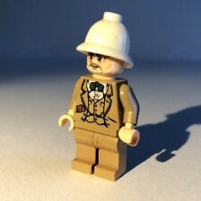 Genuine Lego Mini Figure - Indiana Jones - Henry Jones Sr - IAJ030 - 2009