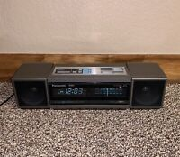 Japan Made Panasonic Accu-Set RC-X310 Boombox AM/FM Radio Alarm Clock Speakers