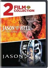 Jason Goes to Hell: The Final Friday / Jason X [New DVD] 2 Pack