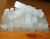 "4"" Selenite Sticks, Natural Crystal Selenite Wand Blades, Wholesale Bulk Lot"