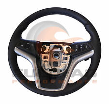 2012-2015 Camaro Genuine GM Automatic Leather Steering Wheel W/Stone Stitching