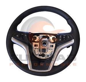2012-2015 Camaro Genuine GM Automatic Leather Steering Wheel W/Stone Stitching