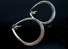 Sterling Silver Hoop earrings.