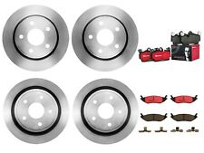 Brembo Front Rear Brake Kit Disc Rotors Ceramic Pads For Dodge Durango Ram 1500
