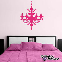 Chandelier Vinyl Wall Decal living family room bedroom home decor sticker CH01
