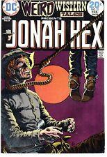 Weird Western Tales 21    Jonah Hex      DC 1974