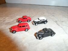 ERTL N SCALE  OLD SCHOOL AUTOMOBILES  LOT OF 4
