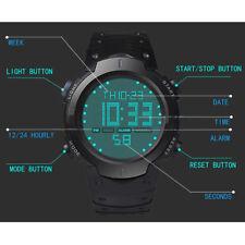 corre Sport LED A Unisex Orologio Silicone Gomma Braccialetto Digitale HONHX