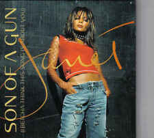 Janet Jackson-Son Of A gun Promo cd single