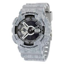 Grey Casio G-Shock Analog Digital XL Watch GA110SL-8A