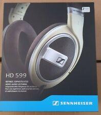 SENNHEISER HD 599 AROUND EAR OPEN BACK PREMIUM HEADPHONES *NEW* 2YR WARRANTY