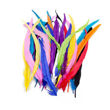 Wholesale! 10/100pcs Beautiful rooster tail feathers Crafts 14-16inches/35-40cm