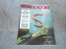 APRIL 1961 TRUE vintage mens adventure magazine --- MORAY EEL