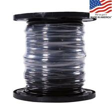 Southwire 20493344 SIMpull 500-Ft 6 AWG Stranded Black Copper THHN Wire By-Roll
