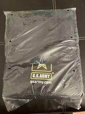 Go Army Bag Style Black Durable Canvas Good Condition
