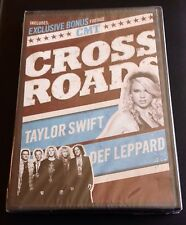 CMT CROSSROADS TAYLOR SWIFT DEF LEPPARD sealed DVD Photograph Pour Some Sugar On