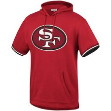 San Francisco 49ers Mens Sweatshirt Mitchell & Ness French Terry Short Sleeve