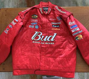 Chase Authentics Drivers Line Nascar Dale Earnhart &Jr. Size 3X Racing Jacket
