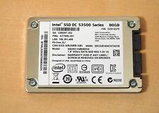 """Intel SSD DC S3500 - 80GB - 1.8"""" - SSDSC1NB0804G"""