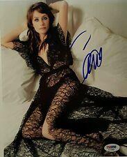 """Carice Van Houten Signed """"Game Of Thrones"""" 8x10 Photo PSA/DNA COA"""